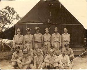Argus Unit 6 Officers - photo taken at Noumea, New Caledona 1943