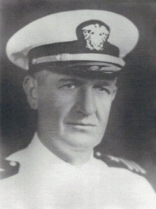 Lt. Cmdr.  Andrew Cowan Cpmmanding Officer - Argus Unit Training Detachment April 1943 - December 1943