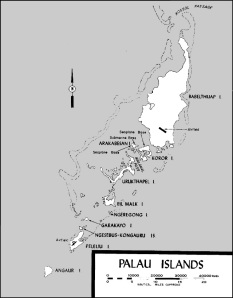 Peleliu Island - Palau Group