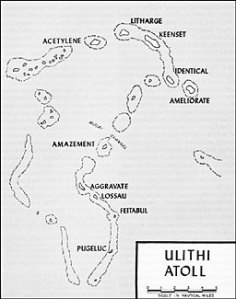 Map of Ulithi Atoll - click on image for a larger version