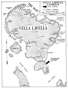 Vella Lavella Landings
