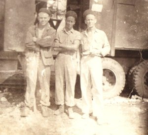 Paul C. Vandiver on the left  Location and date unknown